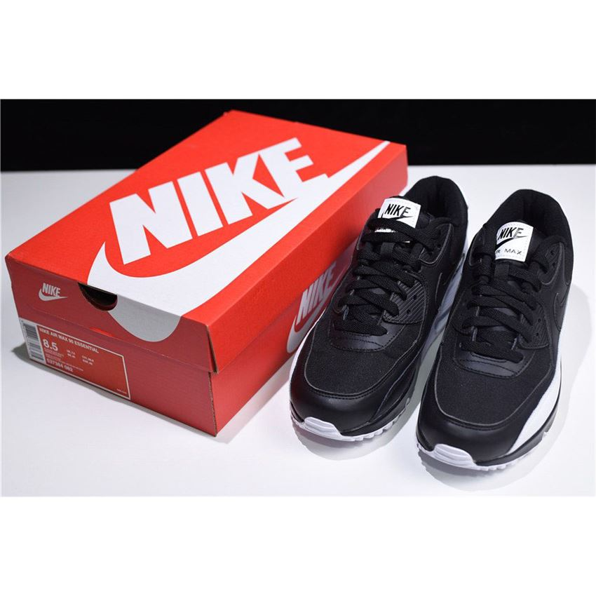 Mens Womens Sneakers Nike Nike Air Max 90 Essential Anthracite Black White 537384 089 537384 089