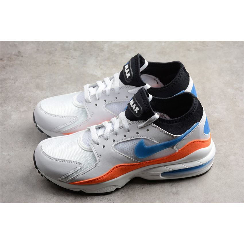 Men's Nike Air Max 93 Blue Nebula WhiteBlue Nebula Total