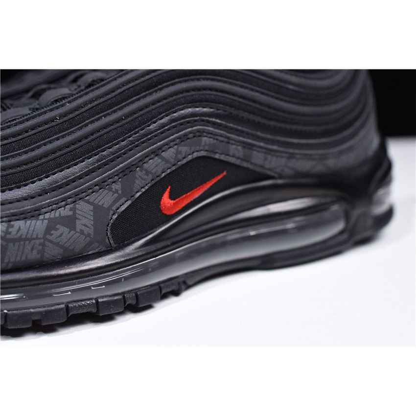 Nike Air Max 97 Reflective Logo Black University Red Ar4259 001
