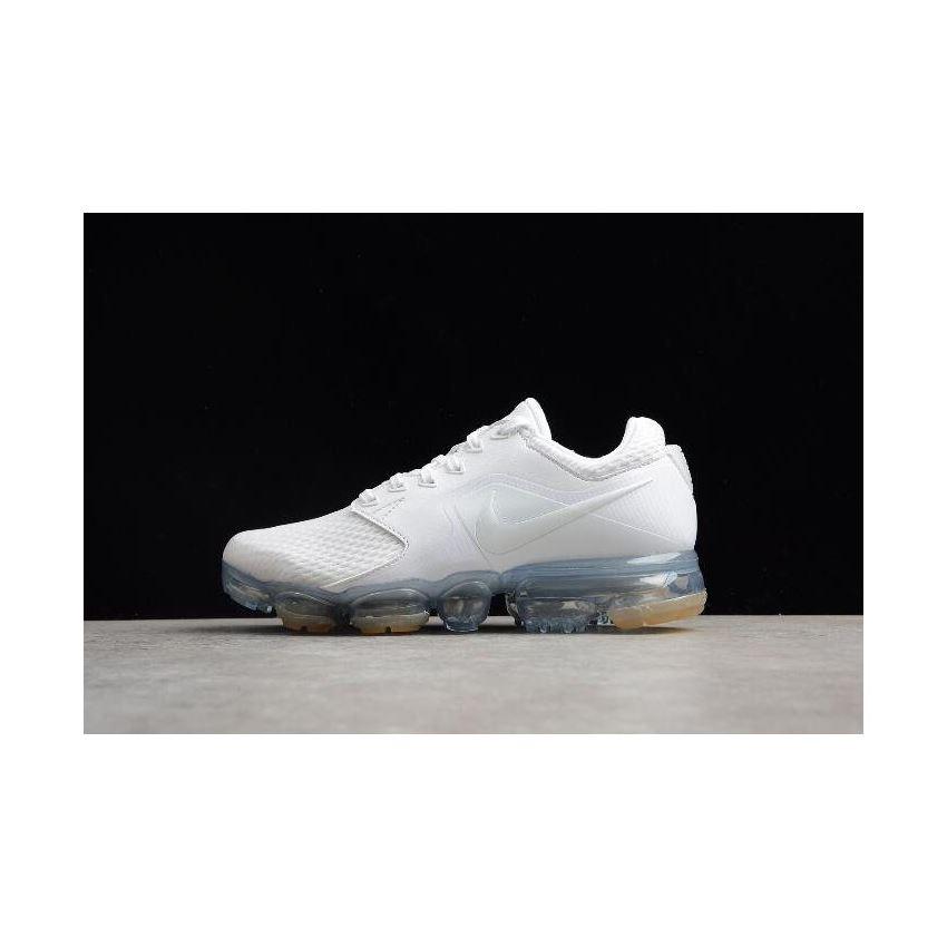 0579a663bc Women's Nike Air VaporMax White/White-Metallic Silver Running Shoes  AH9045-101