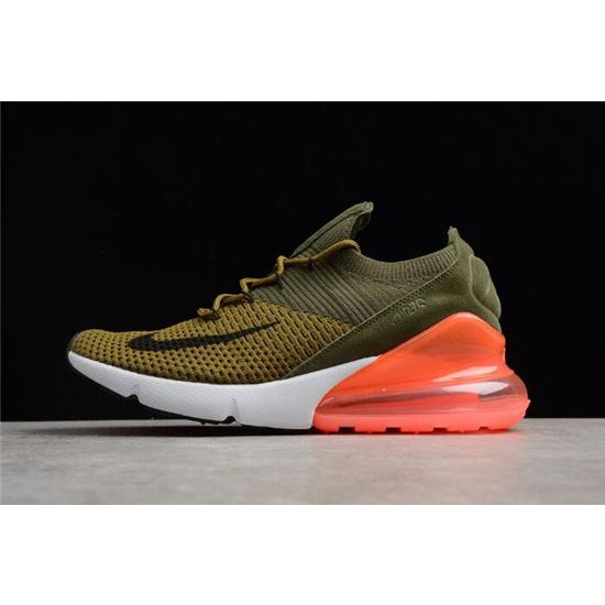 4fa8cfa18c Mens and WMNS Nike Air Max 270 Flyknit Army Green/Dark Green/Black/Red, Air  Max 720, Nike Air Max 2019
