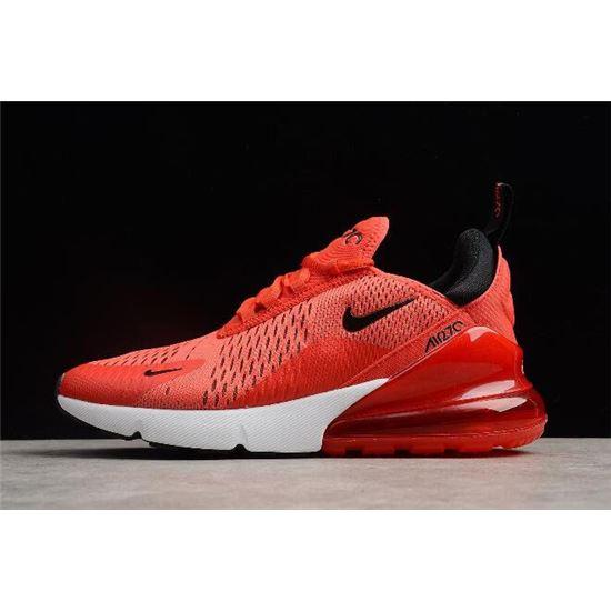 Nike Air Max 270 habanero redblack white AH8050 601 Women's Men's Running Shoes