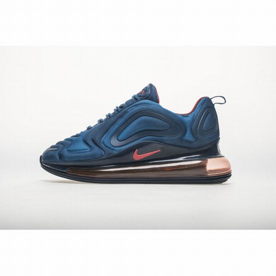 Nike Air Max 720 Dark Blue Red Men AR 9293 401 [Nike 100402