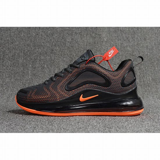 Nike Air Max 720 Kpu Carbon Grey Orange Men [Nike 100415