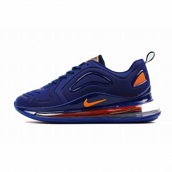 Nike Air Max 720 Kpu Dark Blue Orange Men [Nike 100416