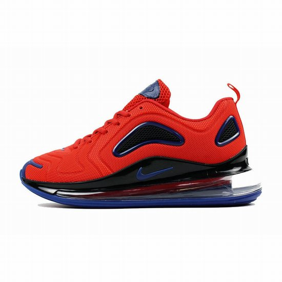 Nike Air Max 720 Kpu Red Black Dark Blue Men [Nike 100420