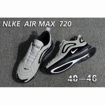 Nike Air Max 720 Kpu Grey Black Men [Nike 100418] $119.99